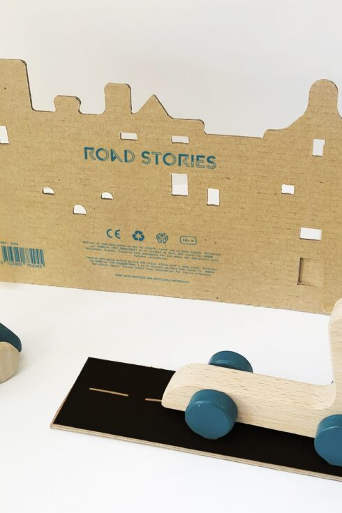 Road Stories: wooden vehicles