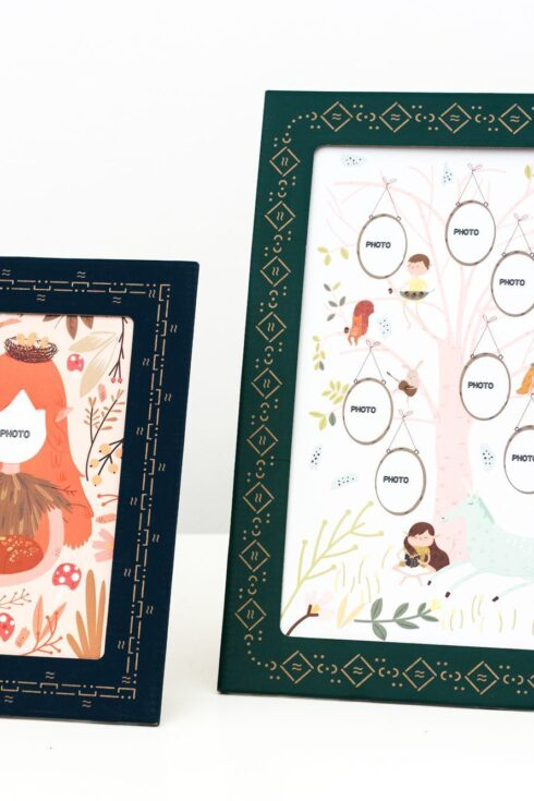 Family Tree Day Card Frame